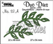 Crealies - Duo Die No. 37A – Leaves 5 Mirror Image - CLDD37A